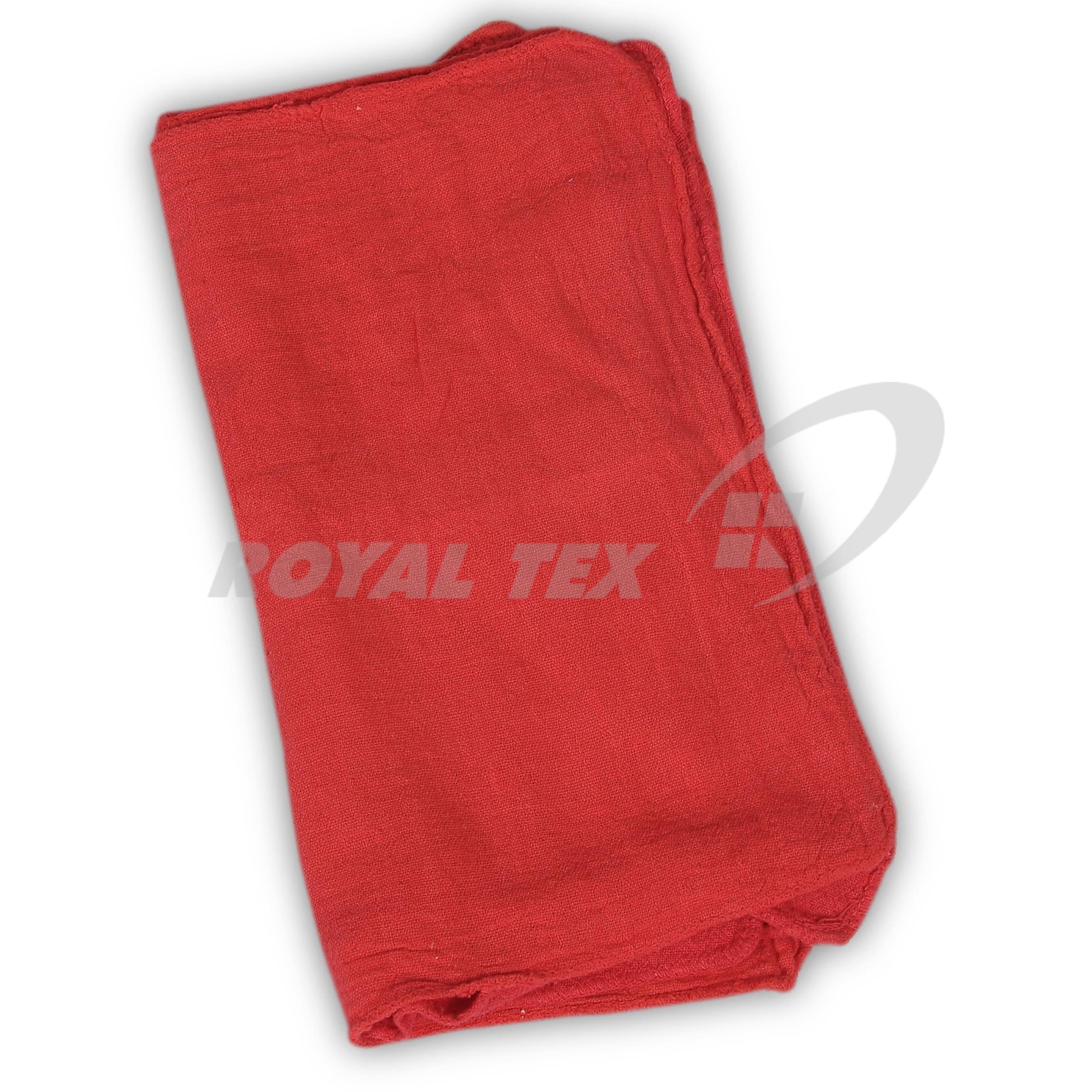 Shop Towel - Red color