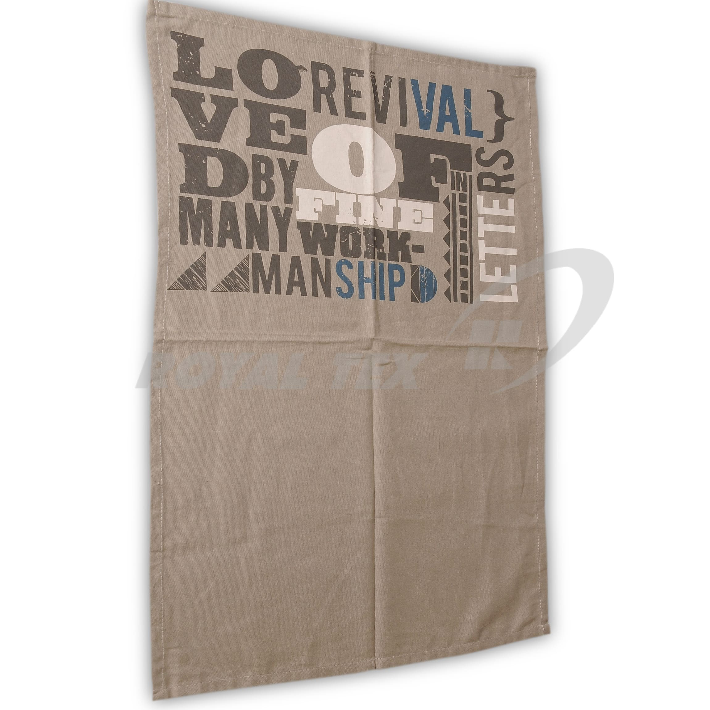 TTP -507  :   Printed Tea Towel
