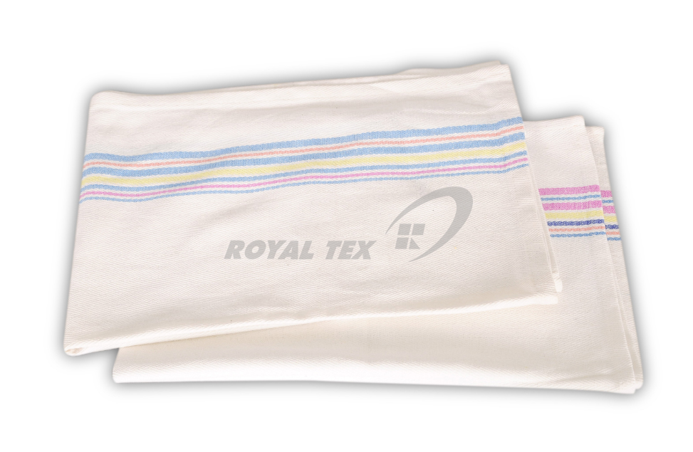 KT- 322   :  Kitchen Towel - color border