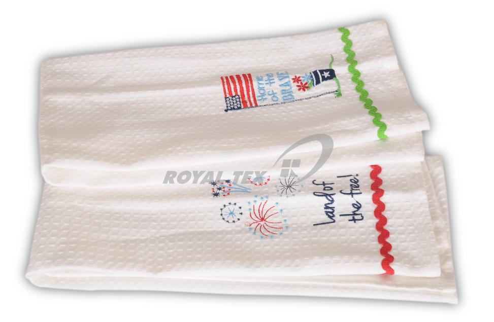 KT- 349  :  Tea Towel - Waffle weave