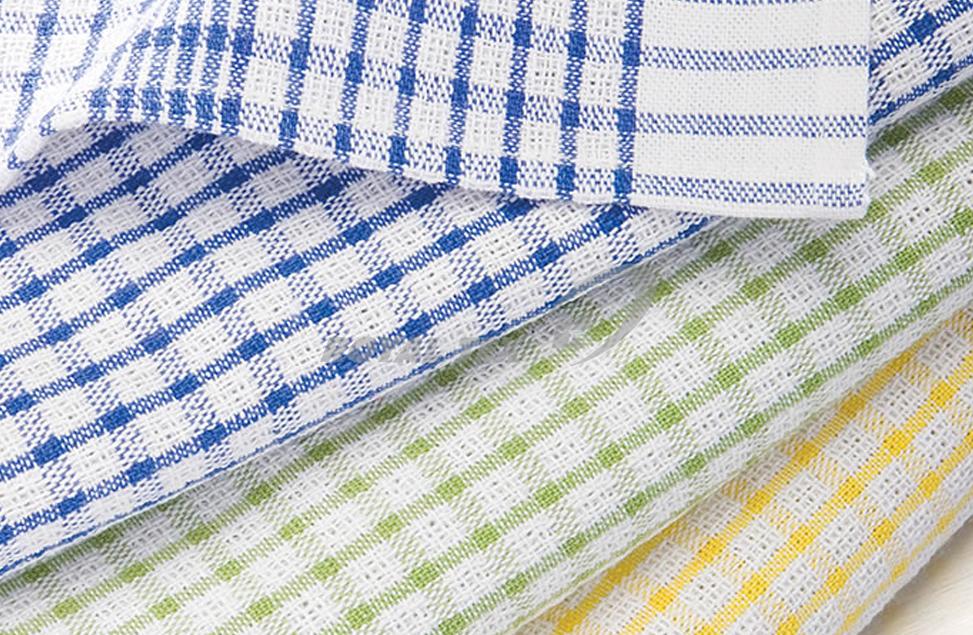 KT- 352  :  Tea towels - waffle weave