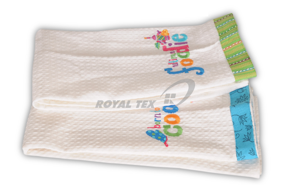 KT- 347  :  Tea Towel - Waffle weave